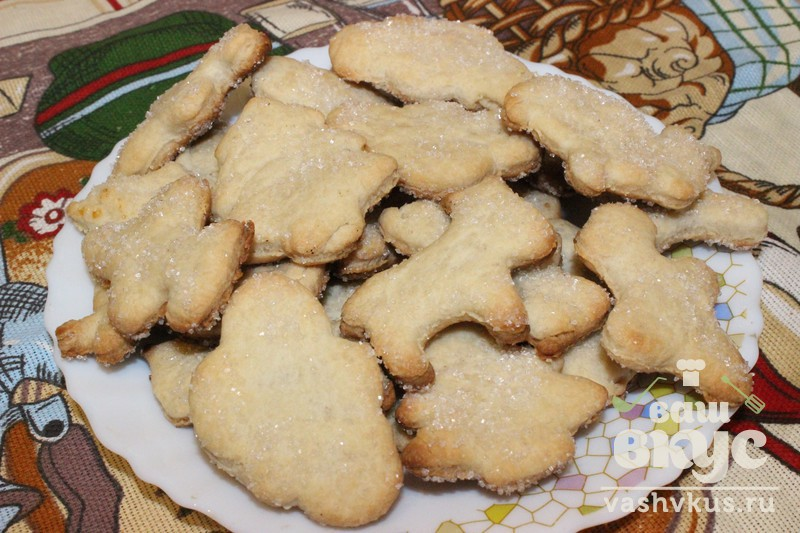 Рецепт песочное печенье рецепт с фото пошагово
