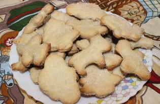 Печенье песочное сахарное (пошаговый фото рецепт)
