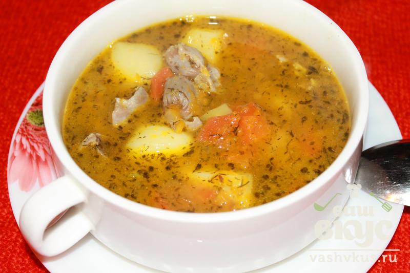 Тыквенный суп рецепт с курицей с пошагово