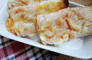 Закуска к пиву из лаваша (пошаговый фото рецепт)
