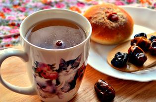 Напиток из фиников и чернослива (пошаговый фото рецепт)