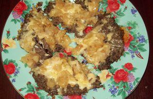 Печеночная запеканка с яблоком в мультиварке (пошаговый фото рецепт)