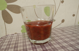 Томатный соус с чесноком (пошаговый фото рецепт)