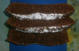 Шоколадный кекс на майонезе (пошаговый фото рецепт)