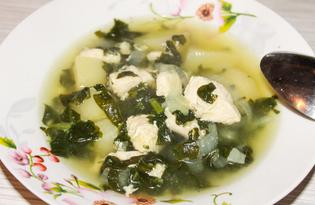 Шпинатный суп (пошаговый фото рецепт)