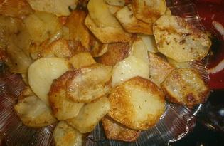 Домашние чипсы на сковороде (пошаговый фото рецепт)