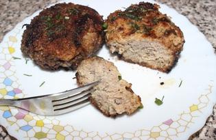 Котлеты из мясного и рыбного фарша (пошаговый фото рецепт)