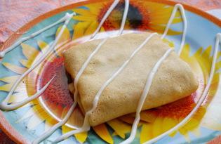 Блинчики с курицей и сыром (пошаговый фото рецепт)
