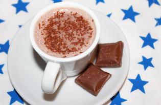 Сладкий горячий шоколад (пошаговый фото рецепт)
