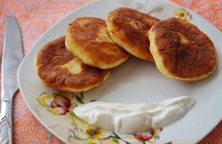Сырники из творога на сковороде (пошаговый фото рецепт)