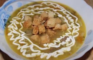 Гороховый суп с вермишелью (пошаговый фото рецепт)
