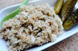 Рис по-японски с соевым соусом (пошаговый фото рецепт)