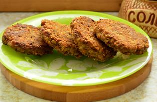 Котлеты из куриной печени и гречки (пошаговый фото рецепт)
