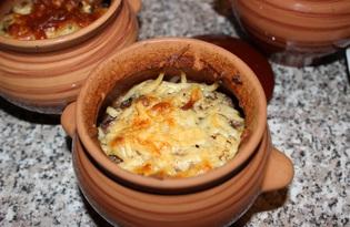 Картофель с тушенкой в горшочках (пошаговый фото рецепт)