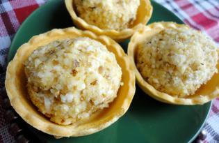 """Закуска из плавленого сыра """"Ореховые шарики"""" (пошаговый фото рецепт)"""