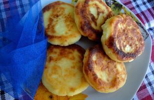 Мандариновые сырники с кокосовой стружкой (пошаговый фото рецепт)