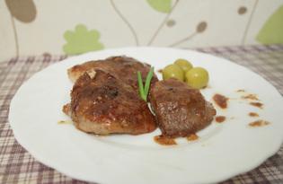 Отбивные в соевом соусе (пошаговый фото рецепт)