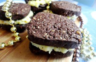 Печенье «Шоколадный твист» (пошаговый фото рецепт)