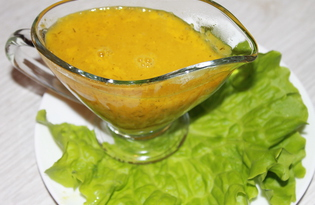 Апельсиновый соус к мясу и рыбе (пошаговый фото рецепт)