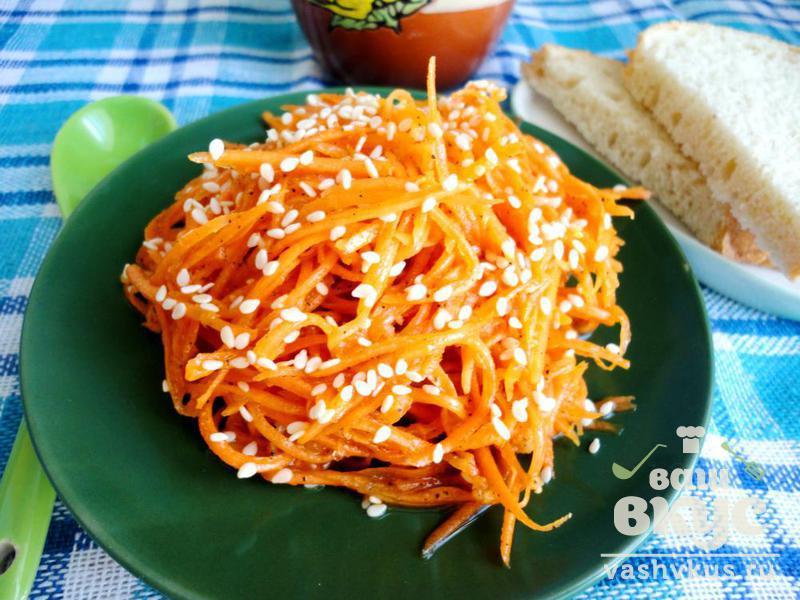 рецепт салата с фунчозой и соевым соусом