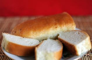 Батон с луком (пошаговый фото рецепт)