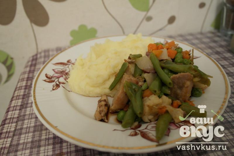 Рецепты с овощной смесью