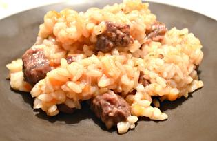 Рис с говядиной и прованскими травами (пошаговый фото рецепт)