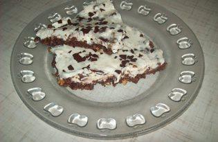 Быстрый пирог с творожной начинкой (пошаговый фото рецепт)