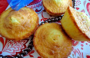 Нежные кексы с цедрой апельсина (пошаговый фото рецепт)