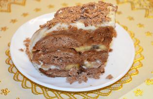 Быстрый пряничный торт (пошаговый фото рецепт)