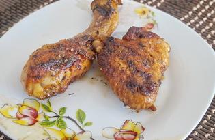 Куриные ножки и крылышки в соусе (пошаговый фото рецепт)