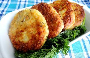 Сырники с укропом и грецкими орехами (пошаговый фото рецепт)