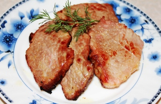 Жареная свинина в апельсинах (пошаговый фото рецепт)