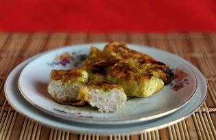 Голубцы с курицей и рисом (пошаговый фото рецепт)