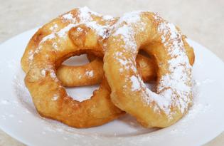 Домашние пончики (пошаговый фото рецепт)