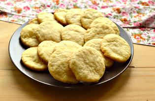 Ванильное песочное печенье (пошаговый фото рецепт)