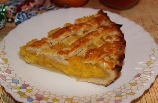 Тарт с апельсином (пошаговый фото рецепт)