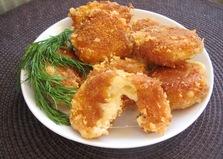 Сырные крокеты (пошаговый фото рецепт)