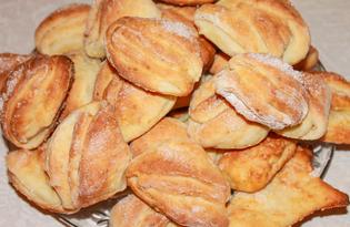 """Печенье """"Гусиные лапки"""" из творога (пошаговый фото рецепт)"""