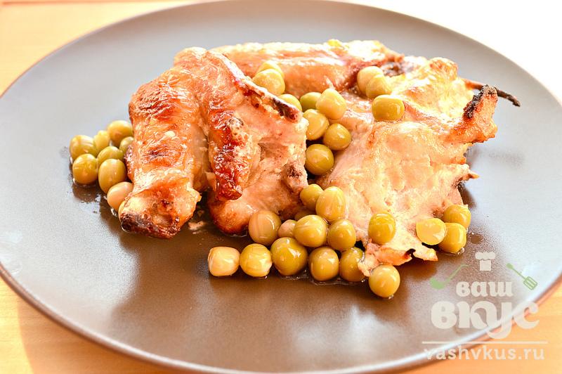 курица с соевым соусом и майонезом в духовке