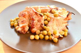 Курица, запеченная в соевом соусе и майонезе (пошаговый фото рецепт)