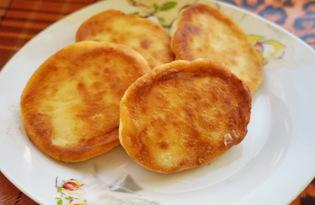 Сырники с бананом (пошаговый фото рецепт)