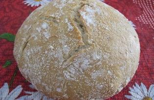 Хлеб без замеса (пошаговый фото рецепт)