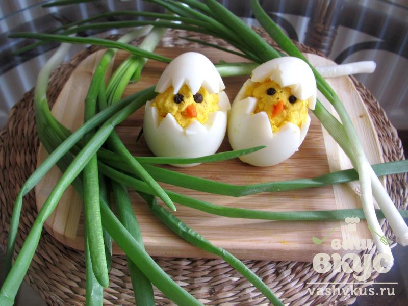 Цыплята из яиц рецепт с фото