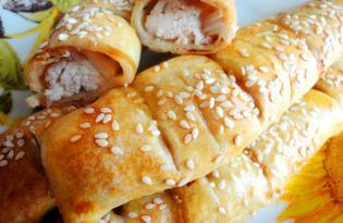 Куриные «палочки» в тесте (пошаговый фото рецепт)