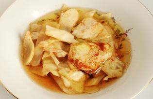 Кимчи из белокочанной капусты (пошаговый фото рецепт)