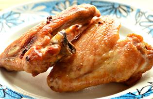 Куриные крылышки в соевом соусе с лимоном (пошаговый фото рецепт)