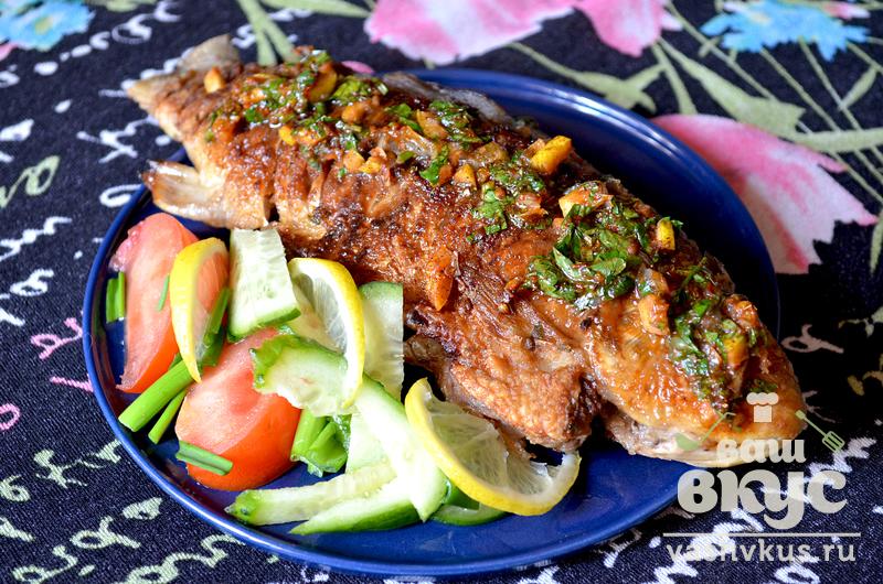 рыба жареная под маринадом количество продуктов на 1 порцию