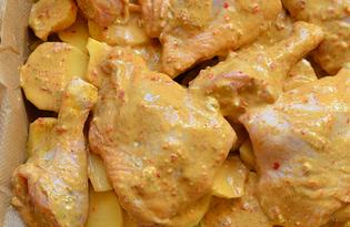 Маринад для курицы на майонезе (пошаговый фото рецепт)