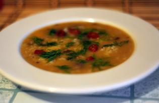 Суп гороховый с рисом и мясом (пошаговый фото рецепт)